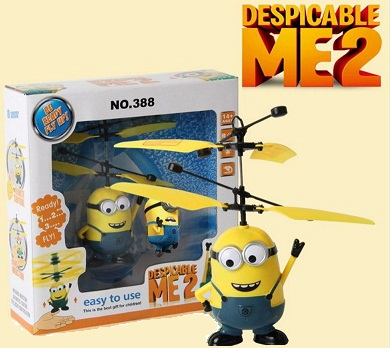 Minions Flying Helicopter