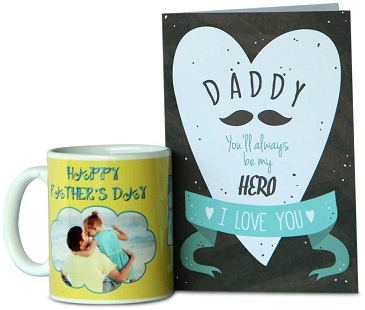 Mug and greeting card