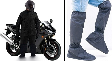 Bike Rain Suit & Shoes