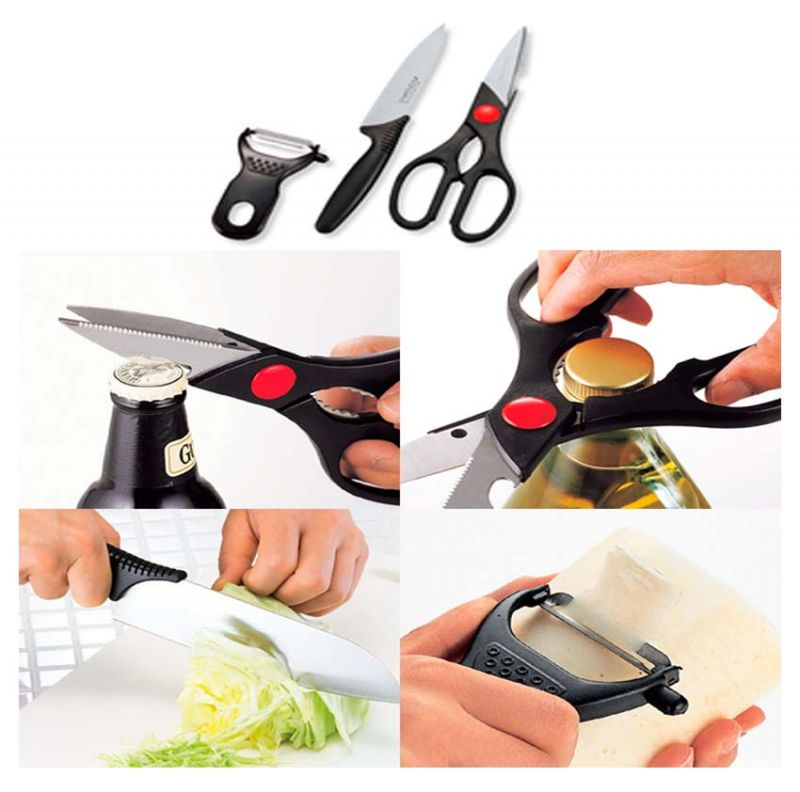 Knife Scissors Peeler