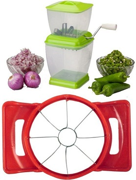 Onion and chilly cutter