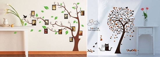 These Wall Stickers Will Make Your Plain Walls Look