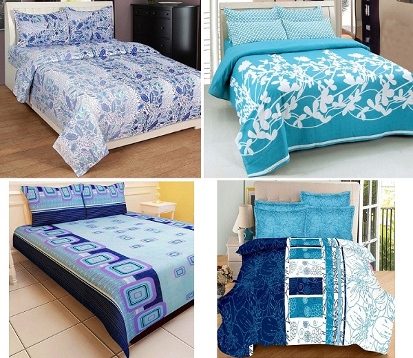 Attractive Blue Bed Sheets