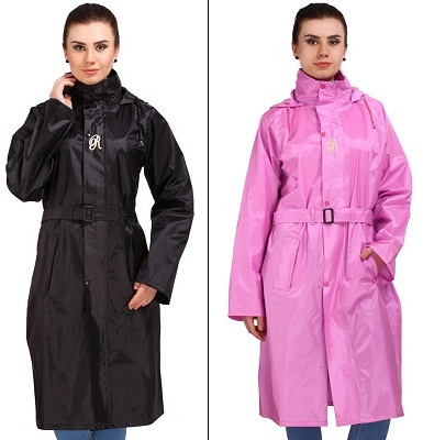 Stylish womens raincoats