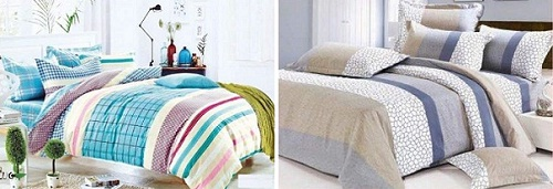 Stripes bed sheets