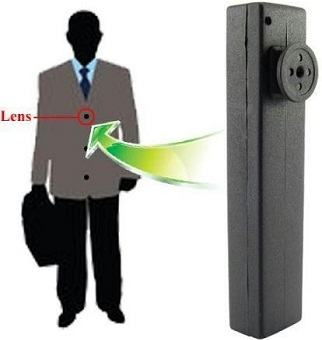 Wearable spy cameras