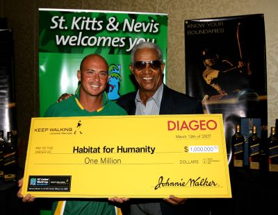 Herschelle Gibbs and Sir Garfield Sobers