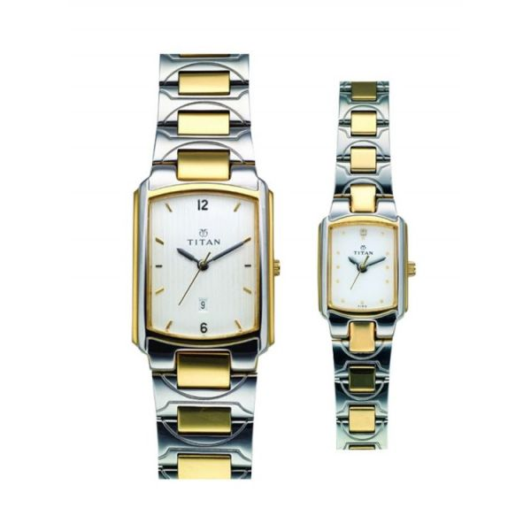 Titan Watch For Couple - Model No: Na19552955bm01