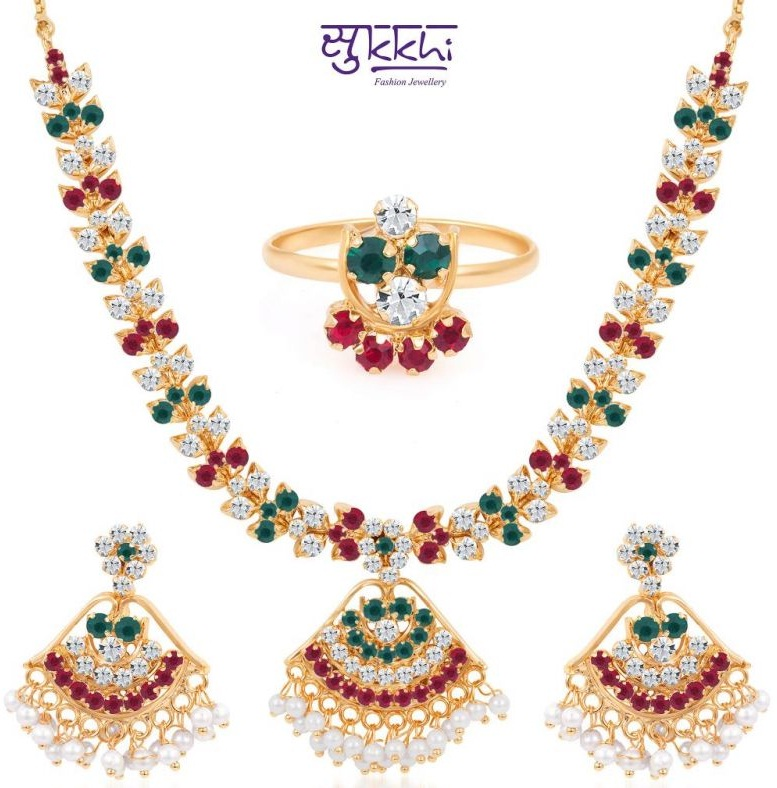 jewels design set marriage nac necklace jewellers india south