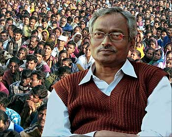 West Bengal Commerce and Industry Minister Nirupam Sen.