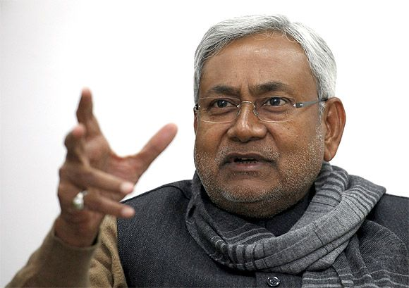Bihar Chief Minister and JD-U leader Nitish Kumar