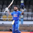 PICS: Kohli leads India to Windies series win with 43rd ODI ton