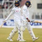 Historic Pakistan-Sri Lanka Test hit by bad weather