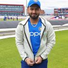 FIRST LOOK! Rishabh Pant joins Team India