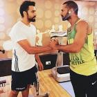 Dhawan talks to himself? Check out Rohit's secret video