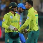 Skipper De Kock on South Africa's win over India...