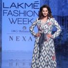 Unbelievable! Sania flaunts fit bod on the runway