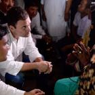 Gorakhpur a govt-made tragedy: Rahul after meeting bereaved families