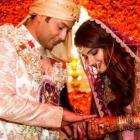 PIX: Sania Mirza's sister ties the knot