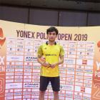 Lakshya wins Belgian International badminton title