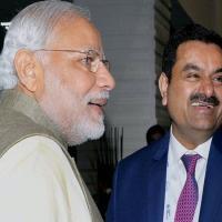 File pic: PM Modi with Gautam Adani