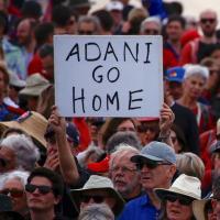Protests against Adani in Australia in 2019