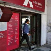Axis Bank was one of the losers today