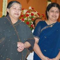 Sasikala with J Jayalalithaa