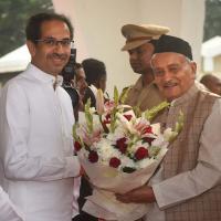 File pic: Maha CM with governor Koshyari