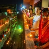 The PM had also told Indians to light lamps in solidarity of Covid workers
