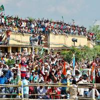 Crowds at a RJD-Cong rally last week