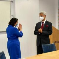 FM S Jaishankar meets UK Home Secretary Preeti Patel