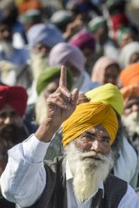 'BJP is getting damaged in the north by farmers' stir'