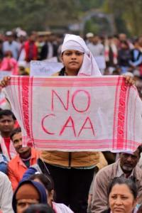 Protests in Assam over CAA, draft EIA amid pandemic