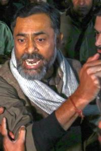 WATCH: Yogendra Yadav manhandled outside JNU