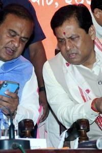 Sonowal, Himanta called to Delhi to discuss CM issue