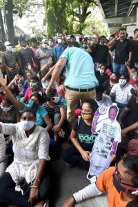 Total lawlessness, anarchy: Bengal Guv on protests by TMC supporters
