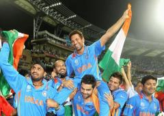 Kohli recollects lap of honour given to Sachin