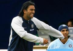 Dhoni completes 15 years in international cricket