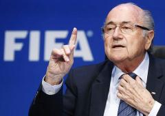 One corruption case dropped against Blatter