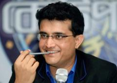 Ganguly to miss Ranchi Test for ISL opening
