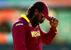 I would love to carry on as long as possible: Gayle
