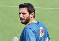 Afridi claims India sought forgiveness post Pak defeat