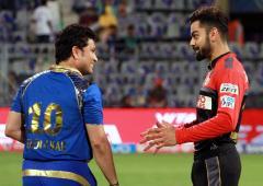 'I don't place Kohli in same class as Tendulkar'