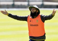 Amla supports Black Lives Matter campaign