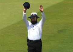 Buzz: Umpire Dar set to break record