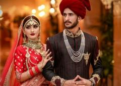 PIX: Pakistani cricketer Ali marries Indian girl Arzoo