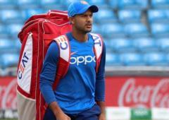 Agarwal replaces injured Dhawan in ODI squad
