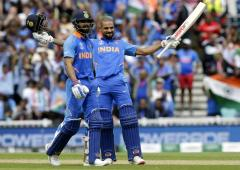 PHOTOS: Dhawan hits century as India outclass Aus
