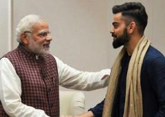 Kohli, Hima extend birthday greetings to PM Modi